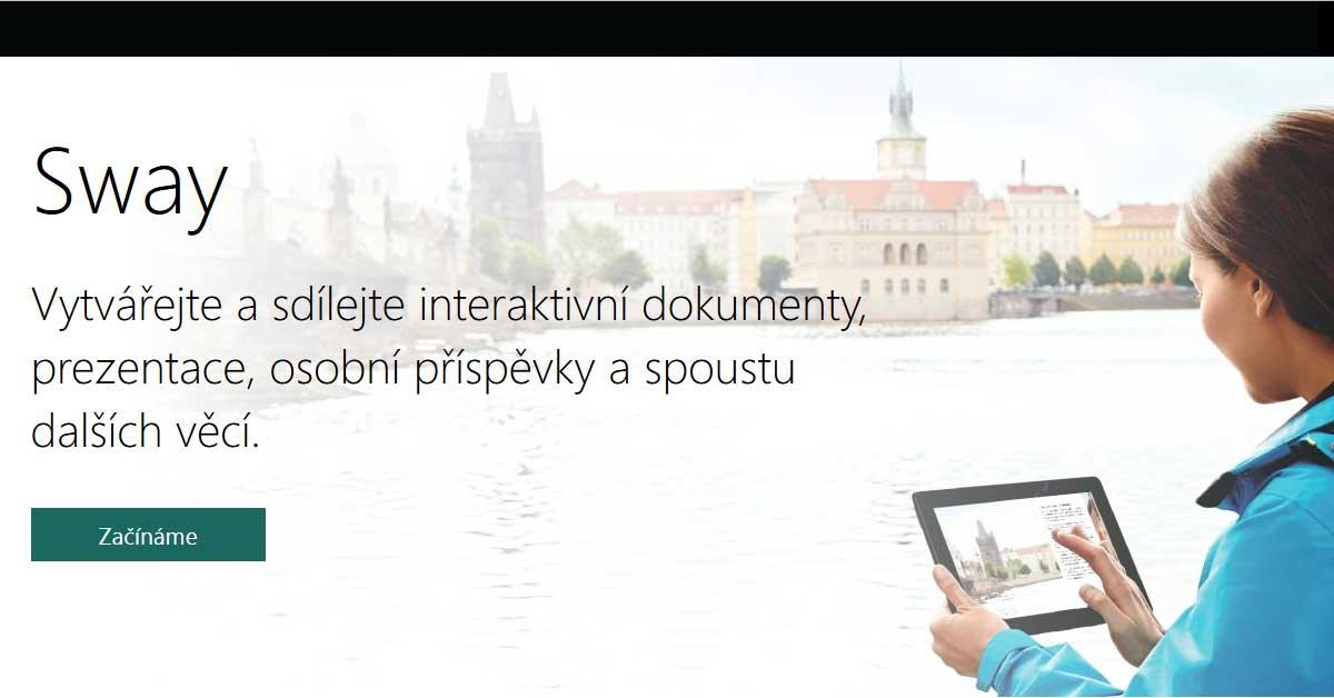 VIDEO: Skvělý nástroj online prezentace Sway