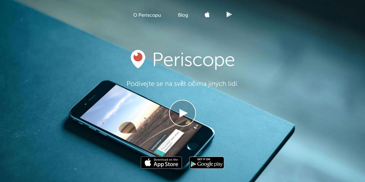 Periscope.tv: Nové horizonty s live stream sociální sítí