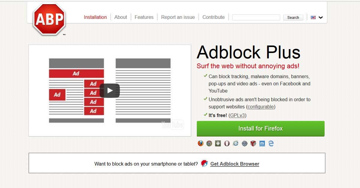 Tip #33: AdBlock – bič na otravný obsah webu