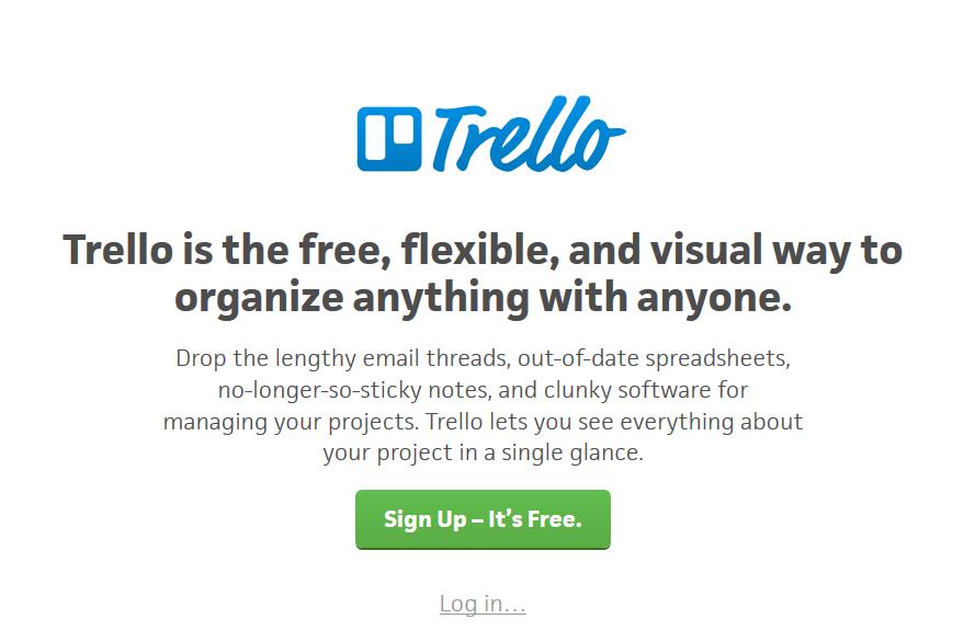 Tip #1: Organizér Trello jako plánovač Vašich projektů
