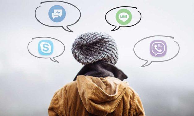 Videohovory? Skype a ti další (základní přehled)