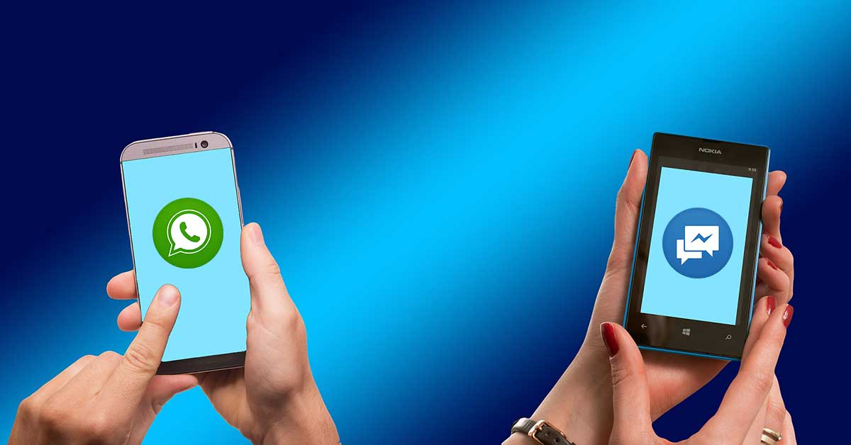 Srovnání WhatsApp versus Messenger: Kdo vítězí?