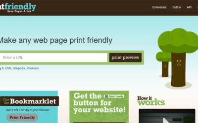 Tip #40: PrintFriendly – tisk webovek online