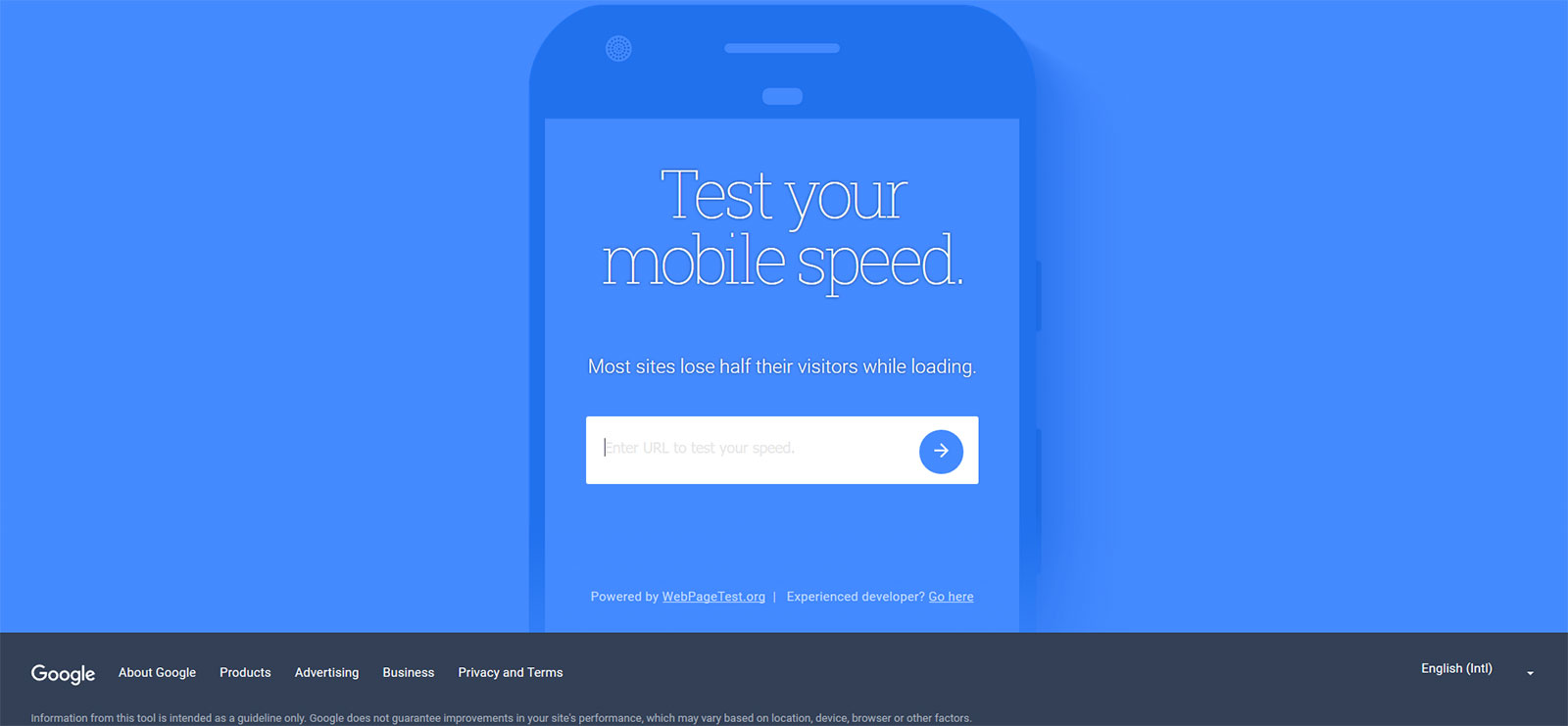 Google mobile speed